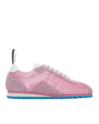 MM6 MAISON MARGIELA Pink Retro Sneakers