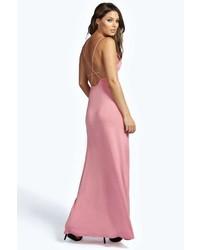 4ff9b6514c58 Women's Pink Maxi Dresses by Boohoo | Women's Fashion | Lookastic.com
