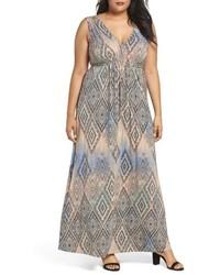 Grecia sleeveless jersey maxi dress medium 5267262