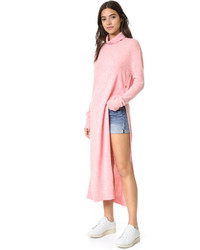 Maxi turtleneck knit dress medium 725917
