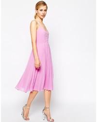 Pink midi dress original 9936018