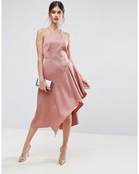 Cami soft drape asymmetric midi dress medium 3708681