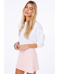 Baby Pink A Line Skirt