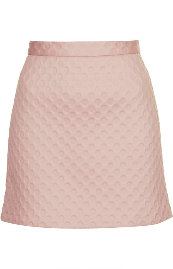 Topshop Spotty Foam Texture A Line Skirt | Where to buy & how to wear
