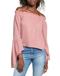 Bell sleeve off the shoulder blouse medium 4951570