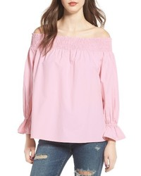 Soprano Bow Off The Shoulder Top