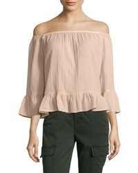 BCBGMAXAZRIA Britanee Off The Shoulder Neckline Top