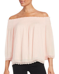 Highline Collective Knit Off The Shoulder Top
