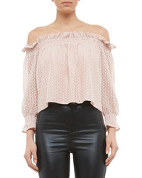 Bardot Milly Off The Shoulder Top