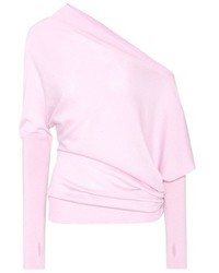Tom Ford Off The Shoulder Cashmere And Silk Top