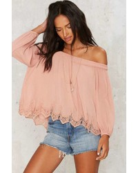 Factory Paloma Off The Shoulder Top