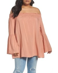 Glamorous Plus Size Off The Shoulder Top