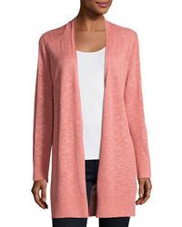 Open slub cardigan plus size medium 4984292
