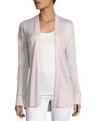 Saks fifth avenue collection silk cashmere open cardigan medium 3674632