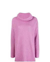 Blugirl Ribbed Turtleneck Sweater