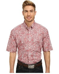 Pink Short Sleeve Shirt | Men's Fashion