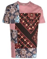 Etro Patchwork Cotton T Shirt