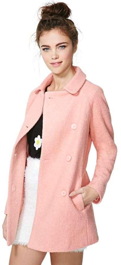 Nasty Gal Charlene Wool Coat | Where to buy & how to wear