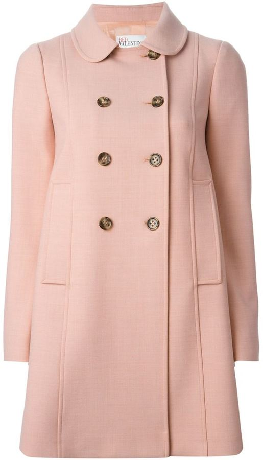 RED Valentino Double Breasted Coat | Where to buy & how to wear