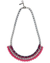 Pink bead necklace medium 84736