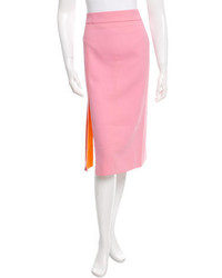 Nina Ricci Knee Length Pencil Skirt