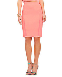 GUESS Mesh Inset Pencil Skirt