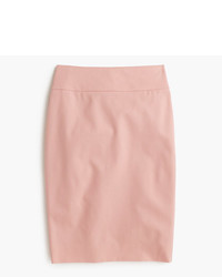 J.Crew No 2 Pencil Skirt In Bi Stretch Cotton