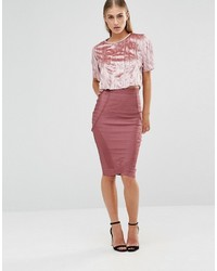 Missguided Pencil Bandage Skirt