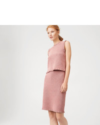 Club Monaco Rimber Sweater Skirt