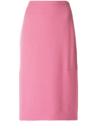 Marni Side Slit Pencil Skirt