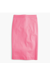 Tall no 2 pencil skirt in two way stretch cotton medium 3704594