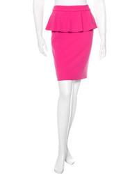 Alice + Olivia Peplum Mini Skirt