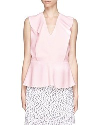 Pink peplum top original 3995633