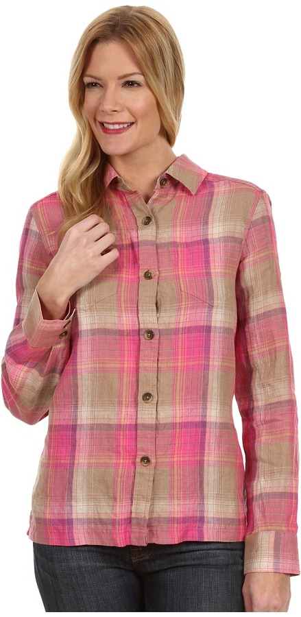 Pendleton Palisades Plaid Shirt Long Sleeve Button Up