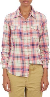 69c5551f Chip Foster Plaid Flannel Western Shirt, $198 | Barneys New York ...