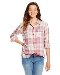 O'Neill Juniors Norma Plaid Shirt
