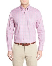 Pop glen regular fit plaid sport shirt medium 399455