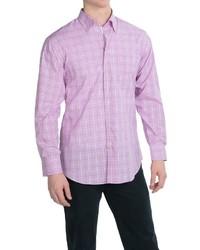 Scott Barber Andrew Cotton Dobby Shirt Long Sleeve