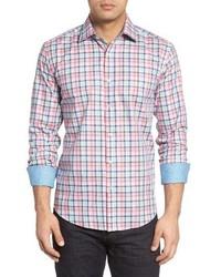 Classic fit check sport shirt medium 1161683