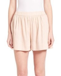 Vince Pleated Pull On Shorts