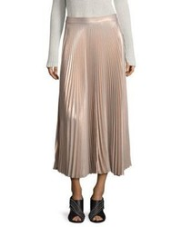 Bobby metallic pleated maxi skirt medium 4398120