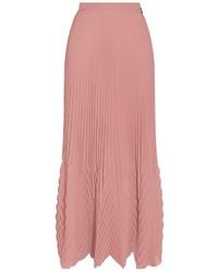 Msgm pleated maxi skirt medium 493336