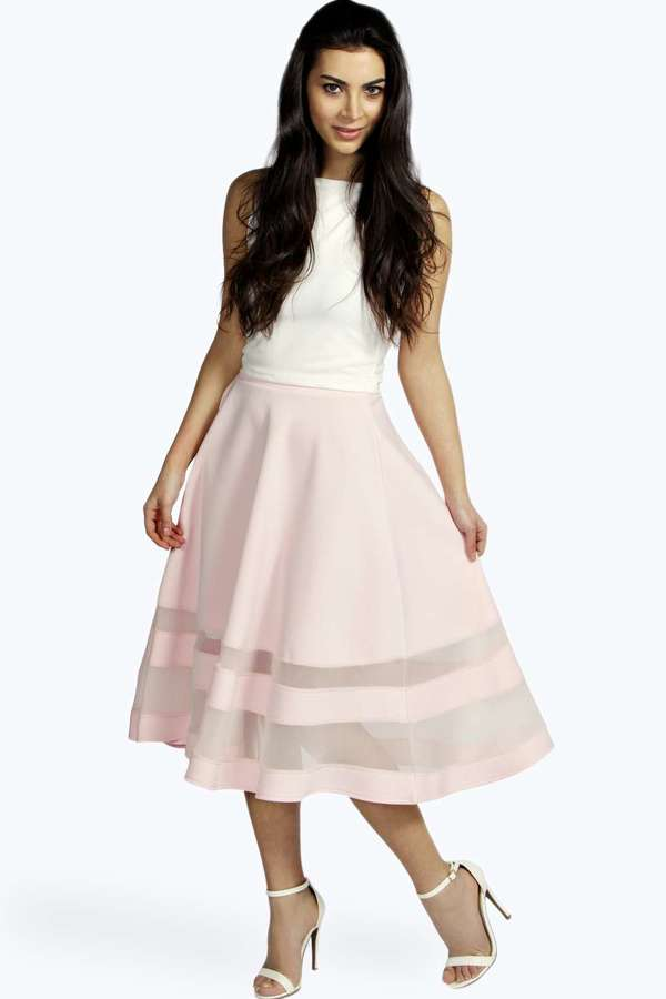 boohoo mesh midi skirt where to buy how to wear