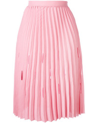 Marco De Vincenzo Pleated Midi Skirt