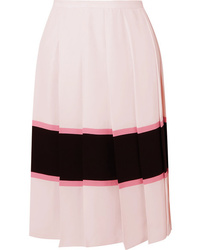 Marni Pleated Striped Skirt