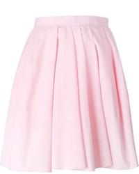 Carven Pleated Short Skirt