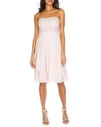 TFNC Kara Pleated Less Dress
