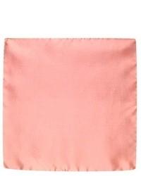 Solid silk pocket square medium 7288