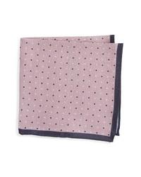Nordstrom Dot Silk Pocket Square