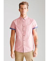 21men 21 Polka Dot Oxford Shirt